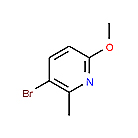 5-Bromo-2-methoxy-6-methyl pyridine